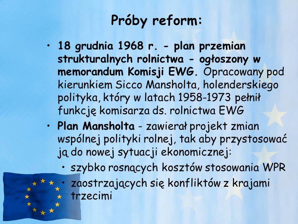 Próby reform: