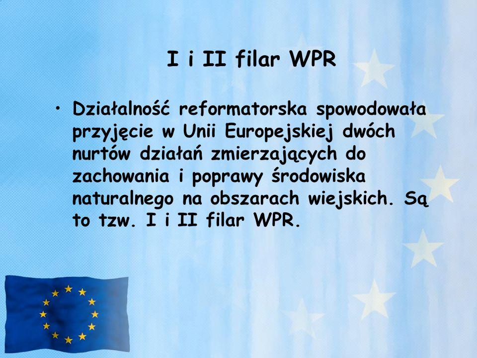 I i II filar WPR