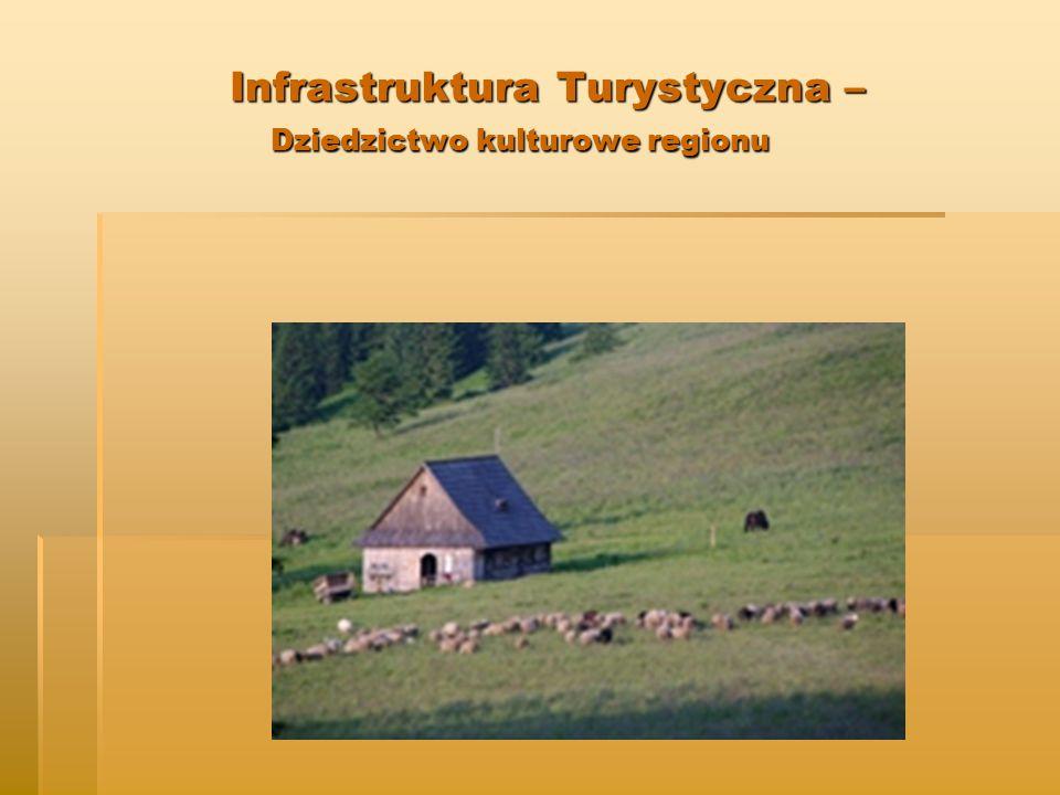 Infrastruktura Turystyczna – Dziedzictwo kulturowe regionu