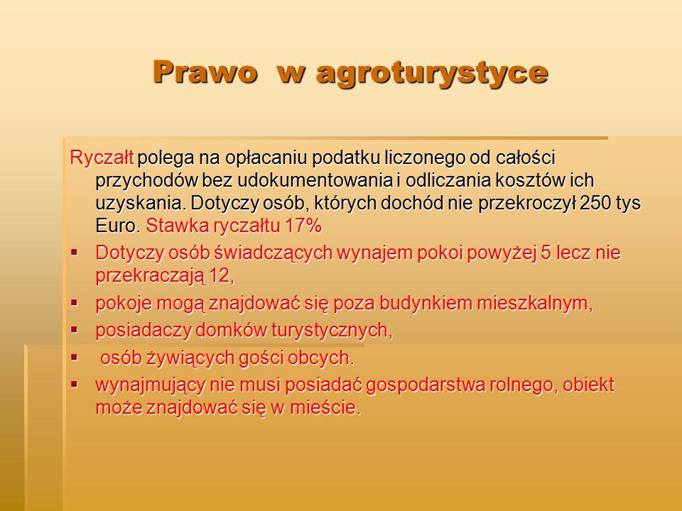 Prawo w agroturystyce