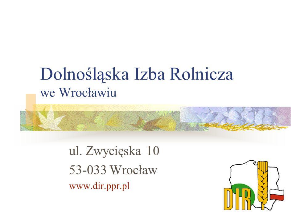 Dolnośląska Izba Rolnicza we Wrocławiu