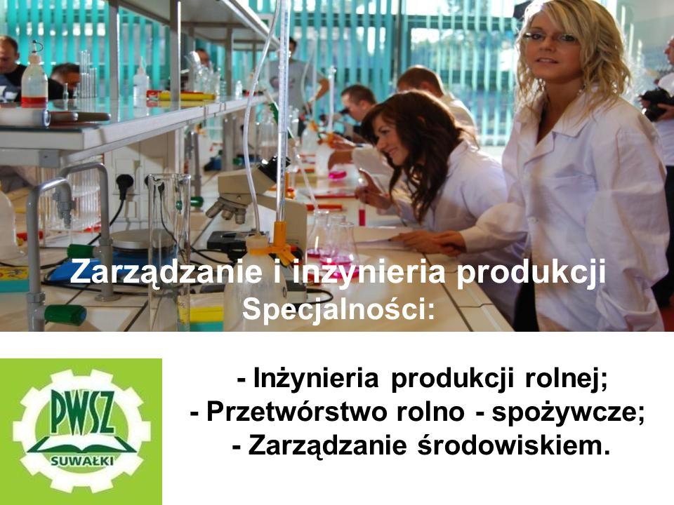 Zarządzanie i inżynieria produkcji - Zarządzanie środowiskiem.