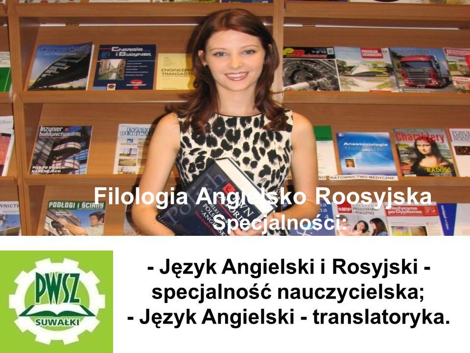 Filologia Angielsko Roosyjska