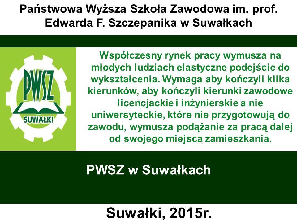 Suwałki, 2015r. PWSZ w Suwałkach