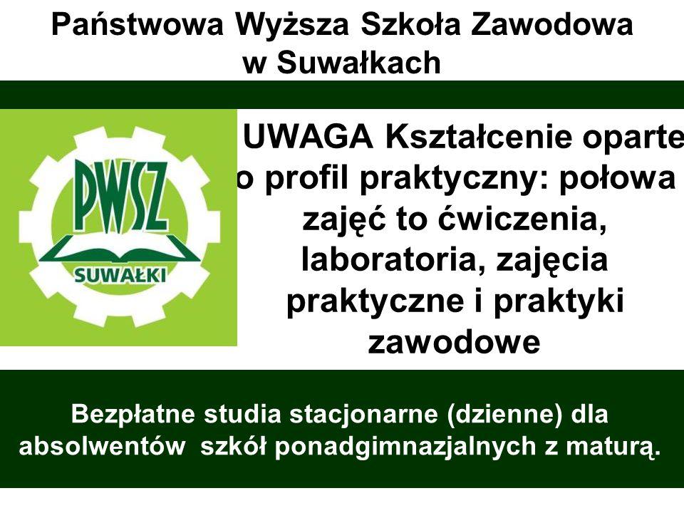Dlaczego warto studiować na PWSZ w Suwałkach