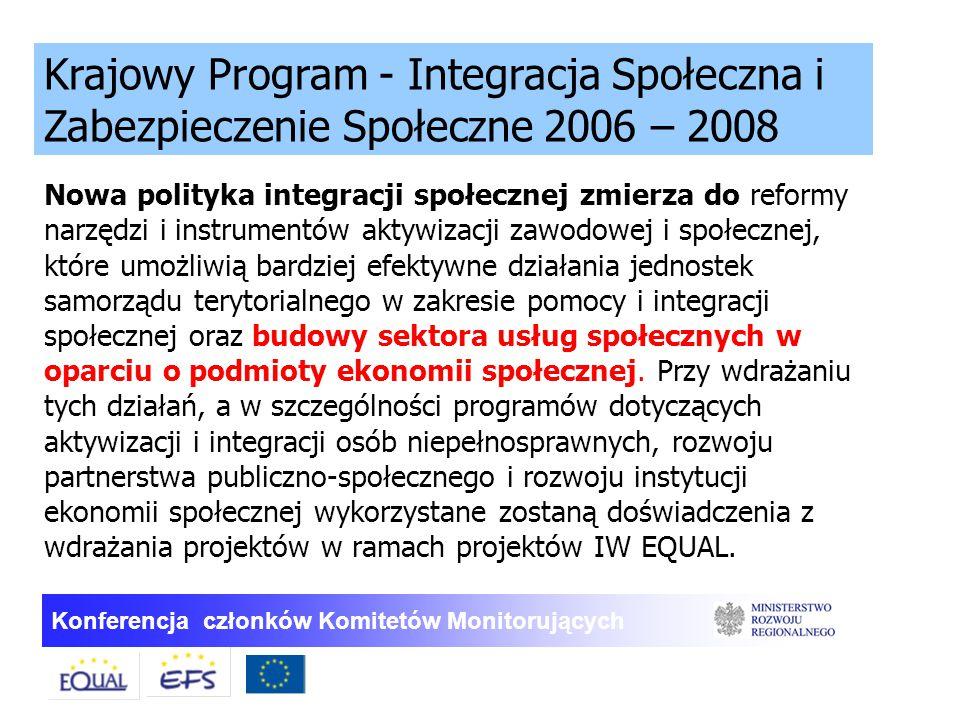 Krajowy Program - Integracja Społeczna i Zabezpieczenie Społeczne 2006 – 2008