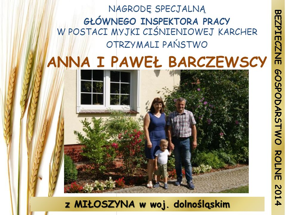 ANNA I PAWEŁ BARCZEWSCY