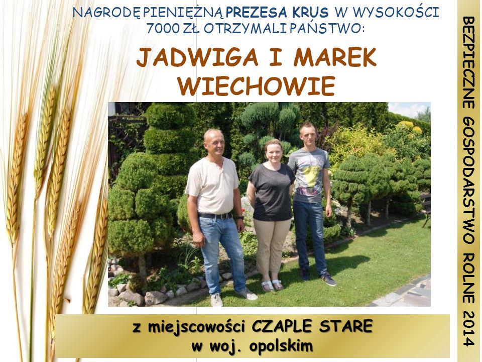 JADWIGA I MAREK WIECHOWIE
