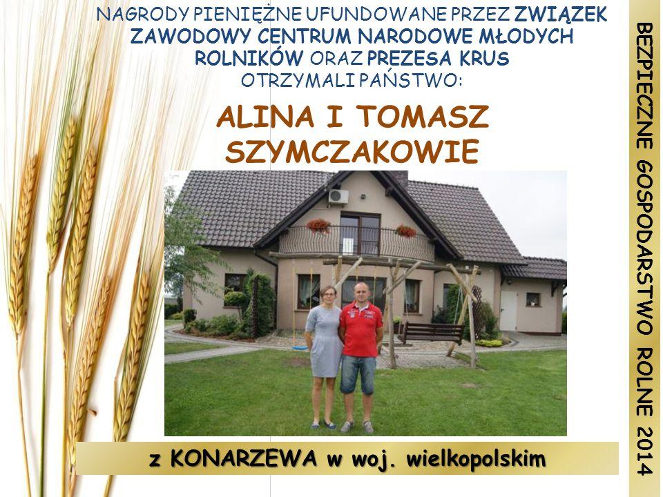 ALINA I TOMASZ SZYMCZAKOWIE