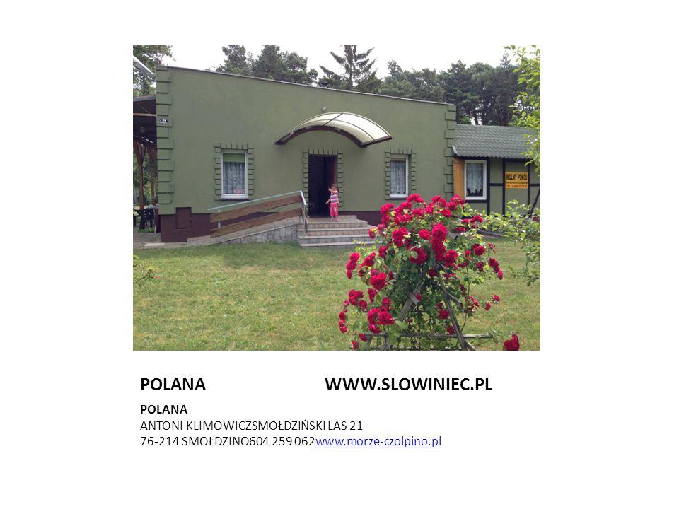 POLANA WWW.SLOWINIEC.PL