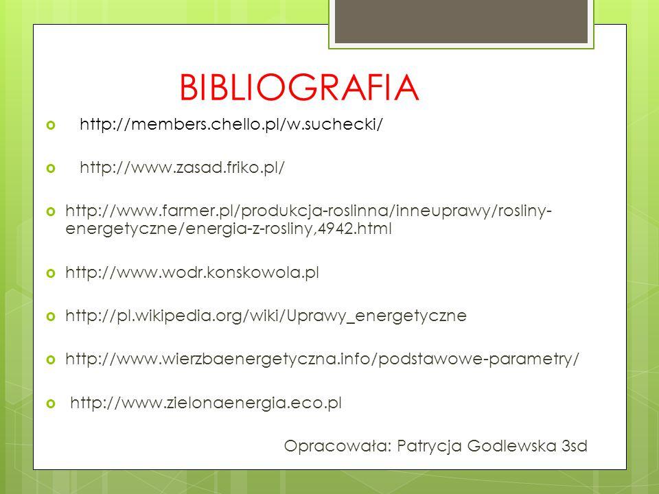 BIBLIOGRAFIA http://members.chello.pl/w.suchecki/