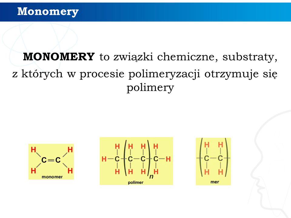 MONOMERY to związki chemiczne, substraty,