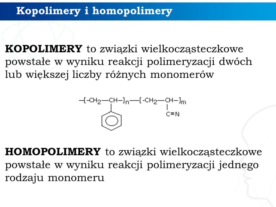 Kopolimery i homopolimery
