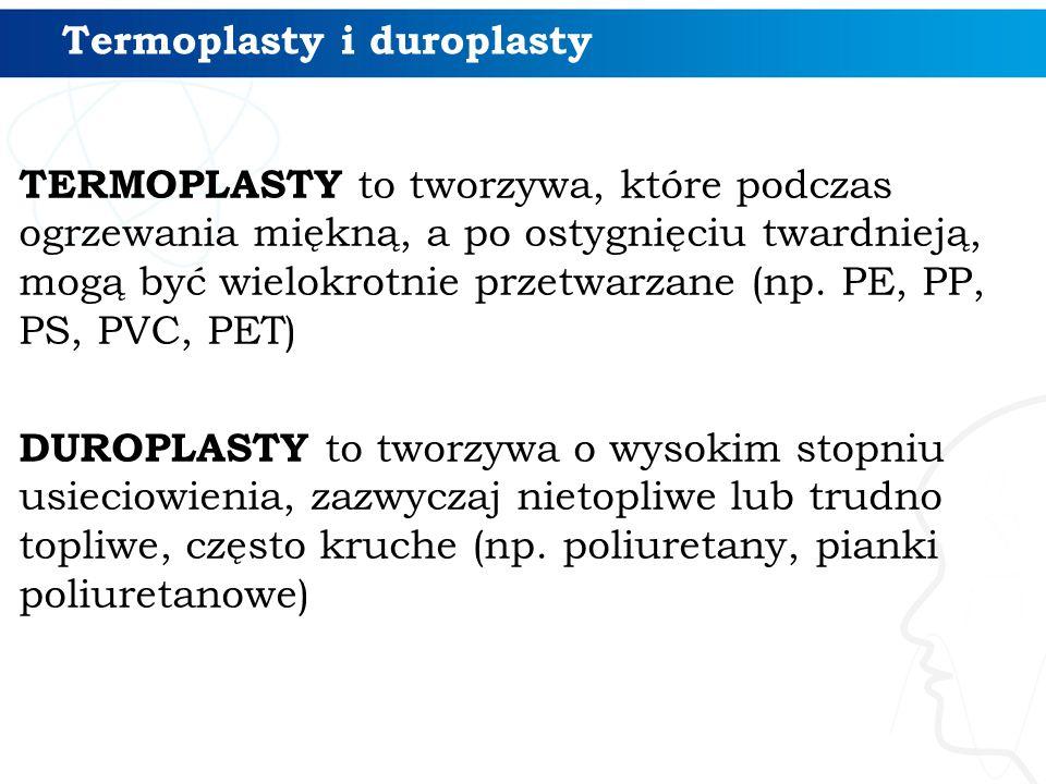 Termoplasty i duroplasty