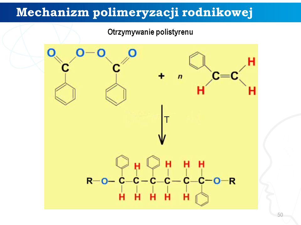 Mechanizm polimeryzacji rodnikowej