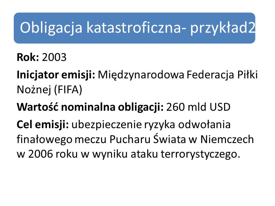 Obligacja katastroficzna- przykład2