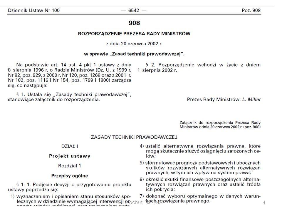 M. Błachut, TiSP, NSP