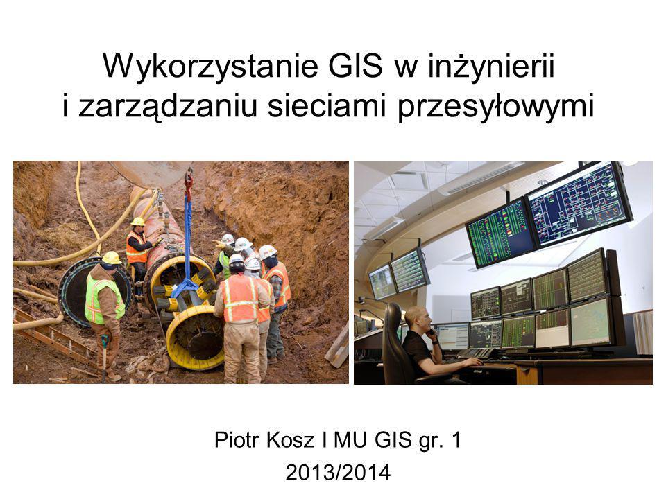 Wykorzystanie GIS w inżynierii i zarządzaniu sieciami przesyłowymi