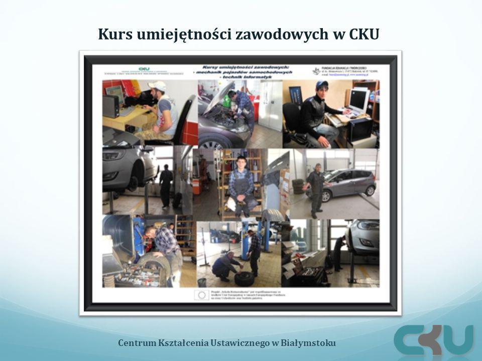 Kurs umiejętności zawodowych w CKU