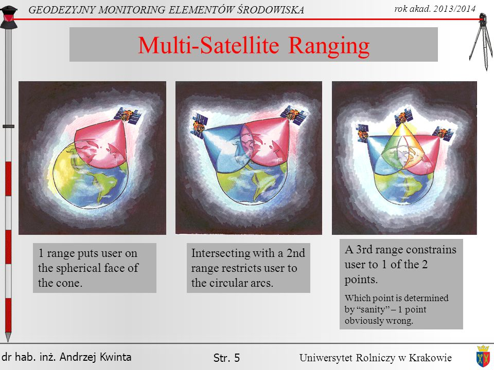 Multi-Satellite Ranging