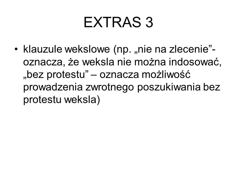 EXTRAS 3