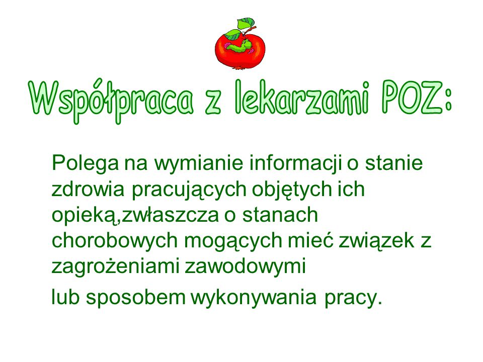 Współpraca z lekarzami POZ: