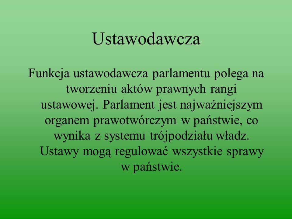 Ustawodawcza