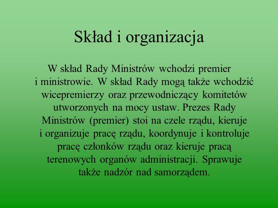 Skład i organizacja