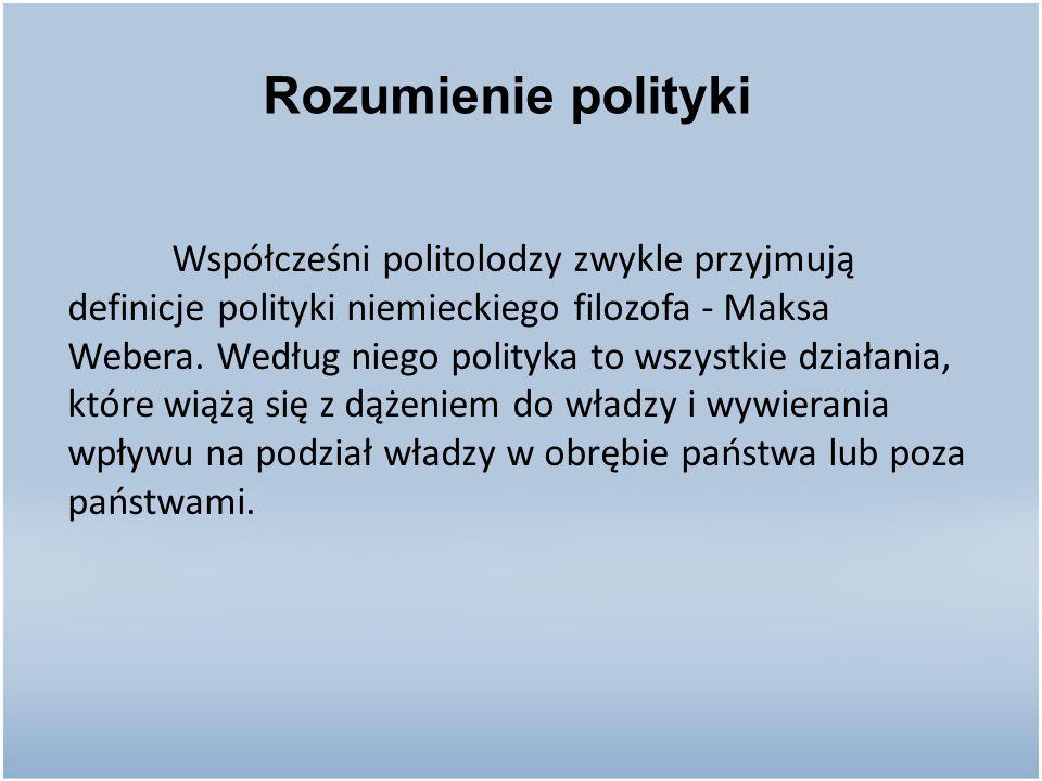Rozumienie polityki