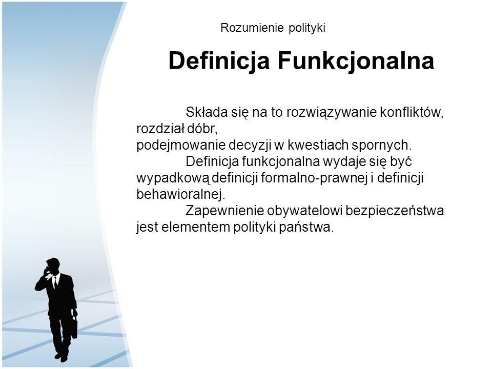 Definicja Funkcjonalna