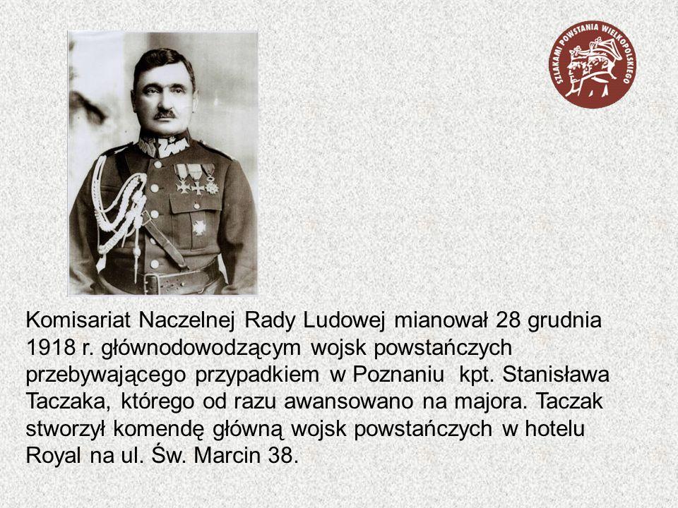 Komisariat Naczelnej Rady Ludowej mianował 28 grudnia 1918 r
