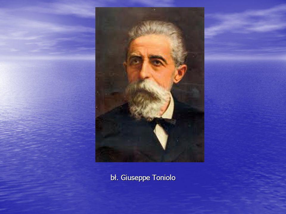 bł. Giuseppe Toniolo
