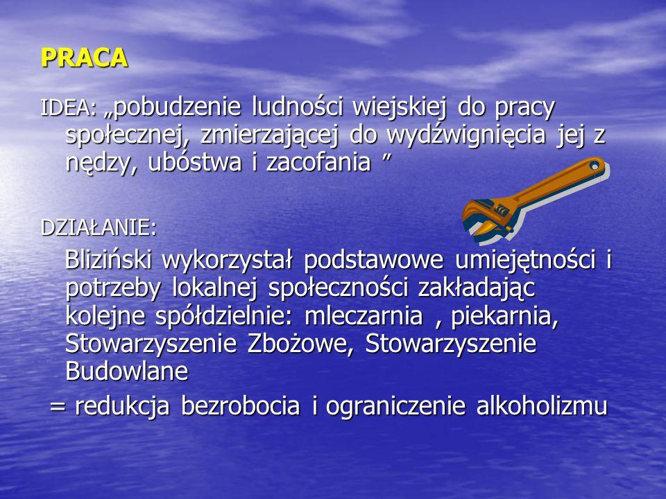 = redukcja bezrobocia i ograniczenie alkoholizmu