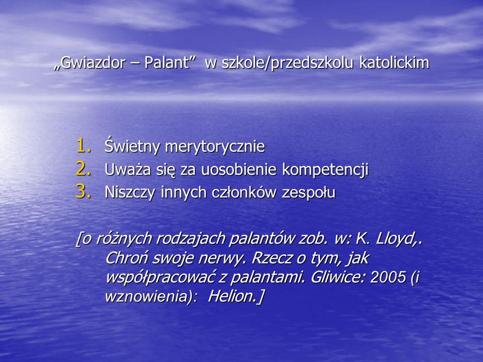 """""""Gwiazdor – Palant w szkole/przedszkolu katolickim"""