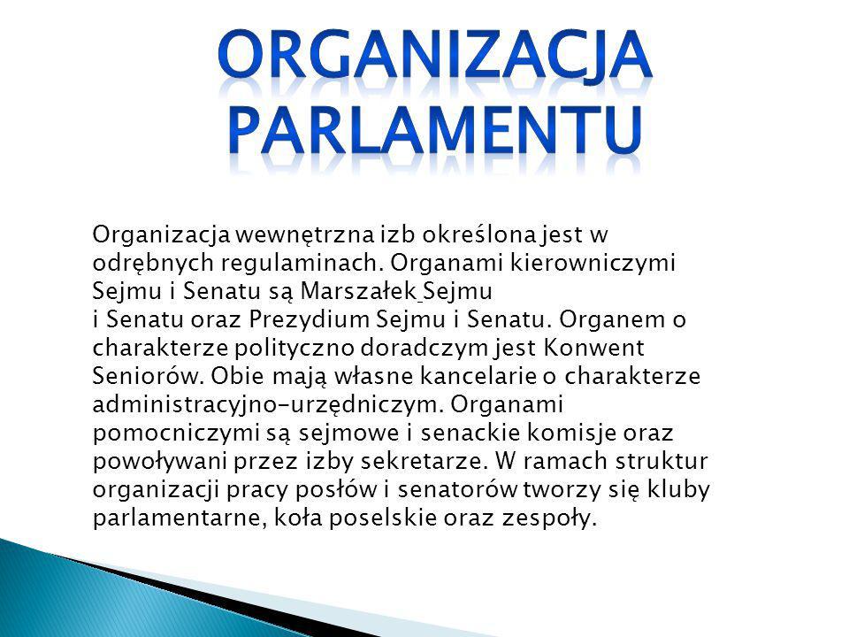 Organizacja Parlamentu