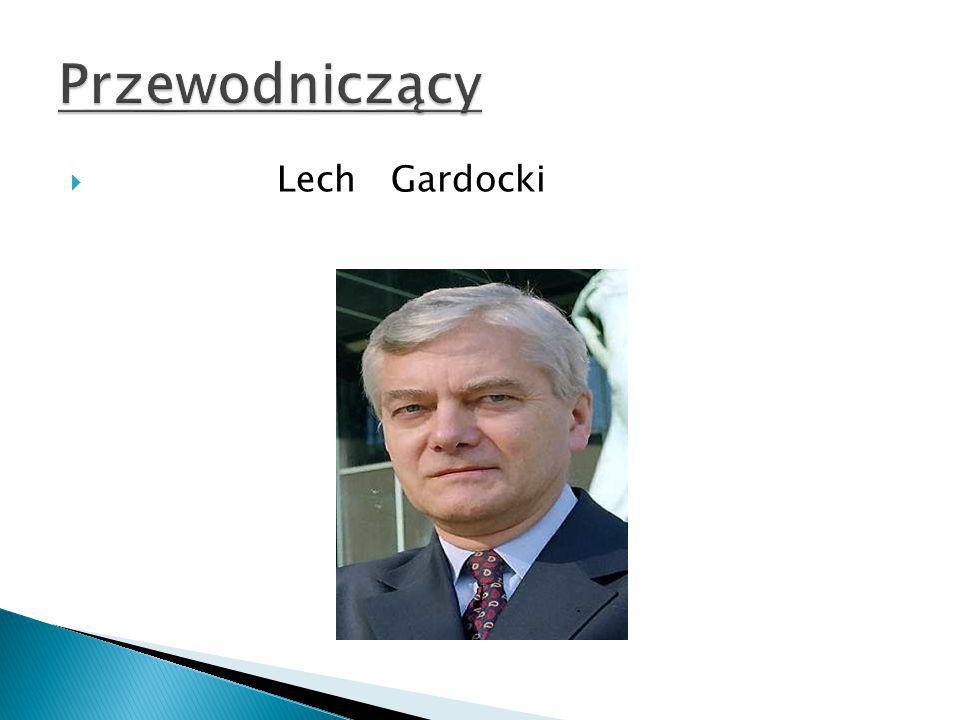Przewodniczący Lech Gardocki