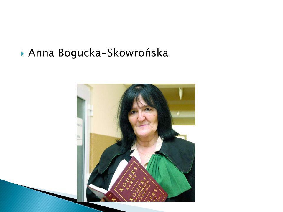 Anna Bogucka-Skowrońska