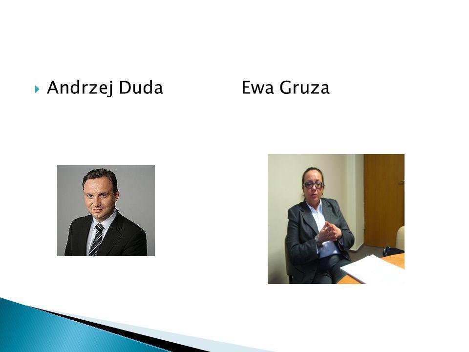 Andrzej Duda Ewa Gruza
