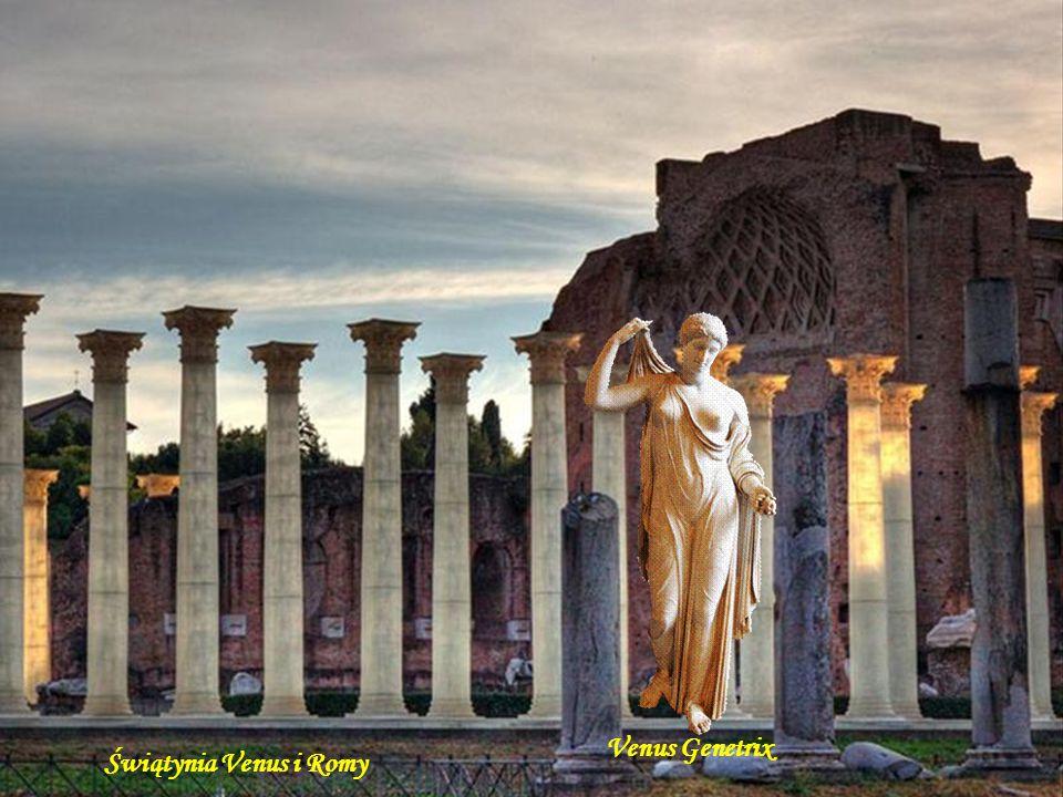 Venus Genetrix Świątynia Venus i Romy