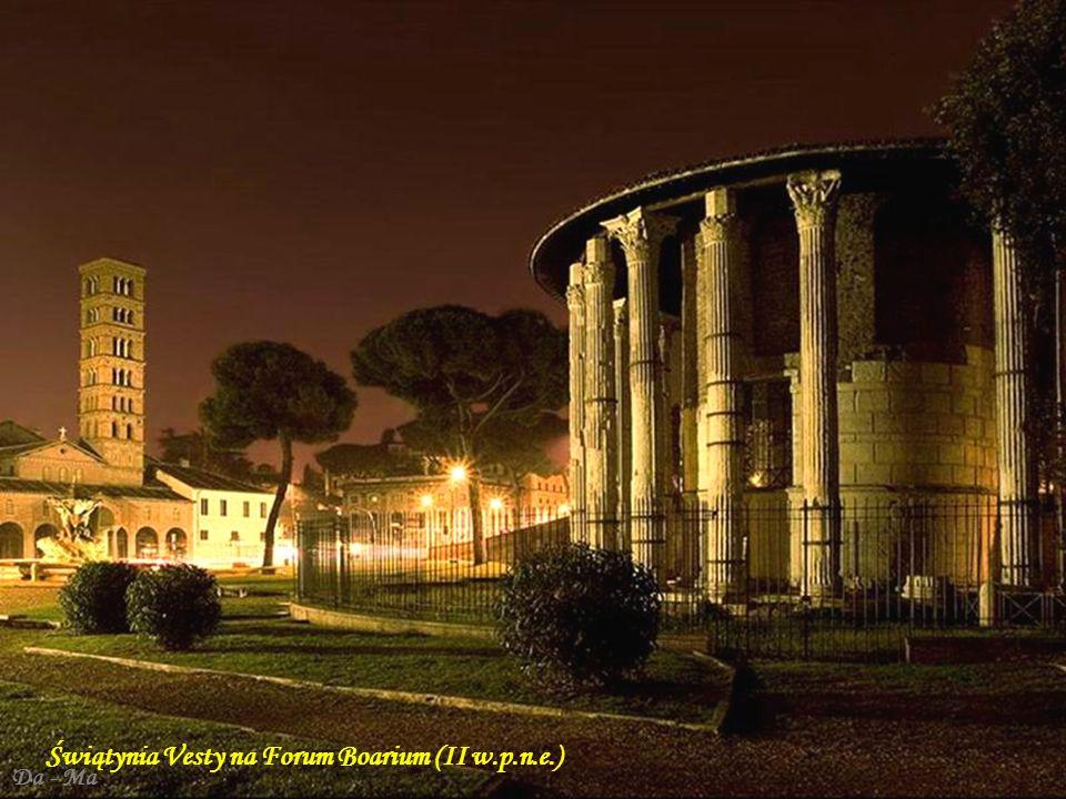 Świątynia Vesty na Forum Boarium (II w.p.n.e.)