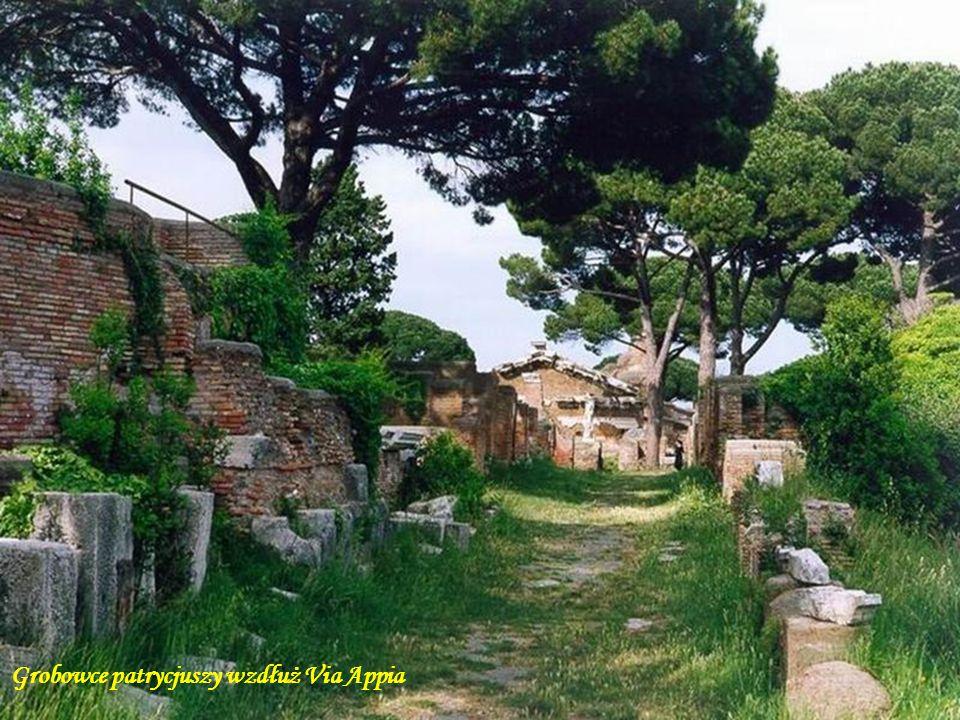 Grobowce patrycjuszy wzdłuż Via Appia