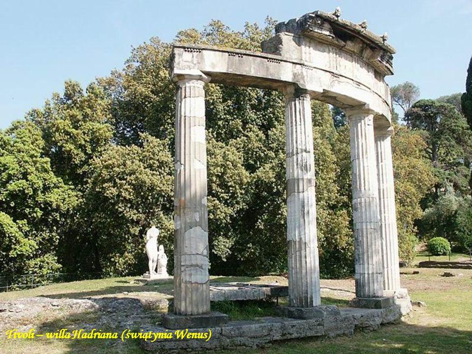 Tivoli – willa Hadriana (świątynia Wenus)