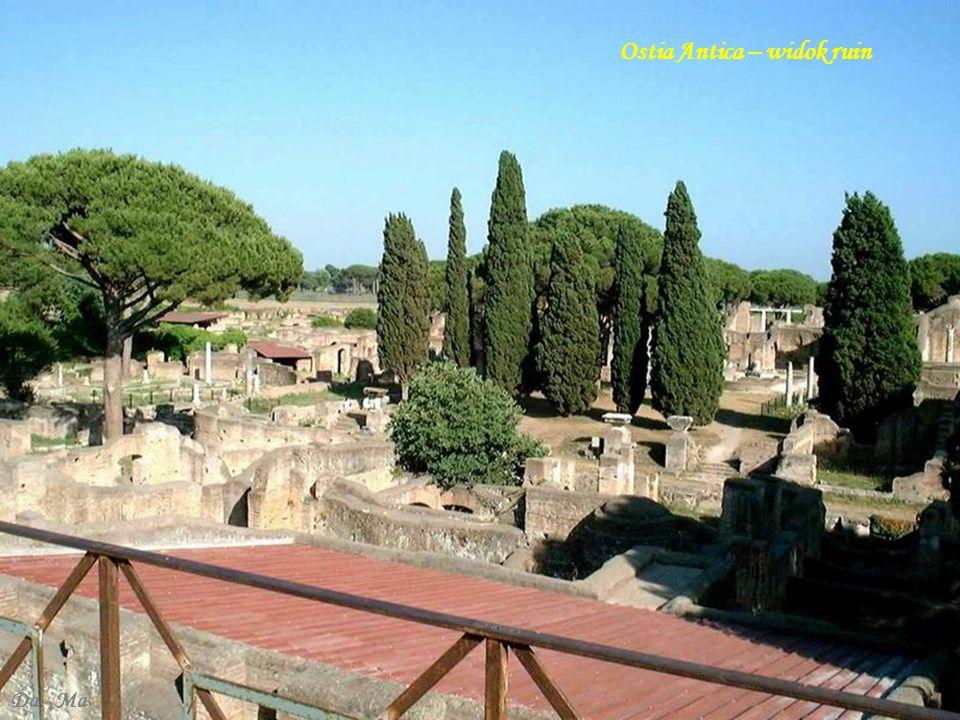Ostia Antica – widok ruin