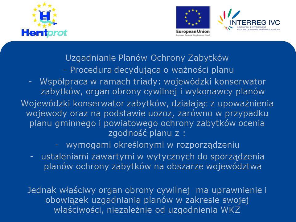 Uzgadnianie Planów Ochrony Zabytków