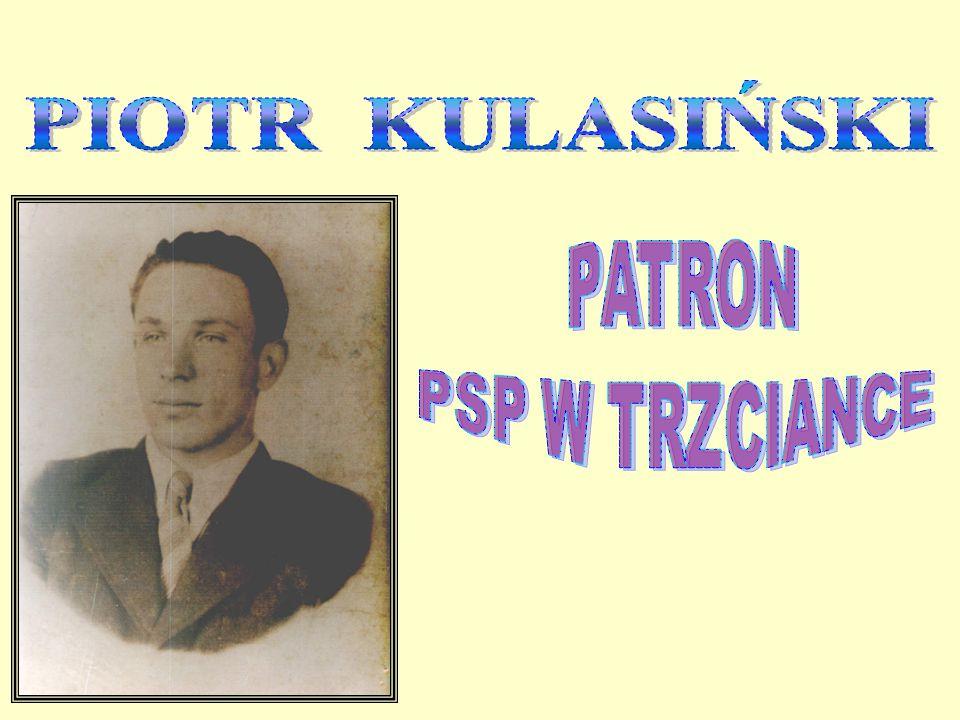 PIOTR KULASIŃSKI PATRON PSP W TRZCIANCE