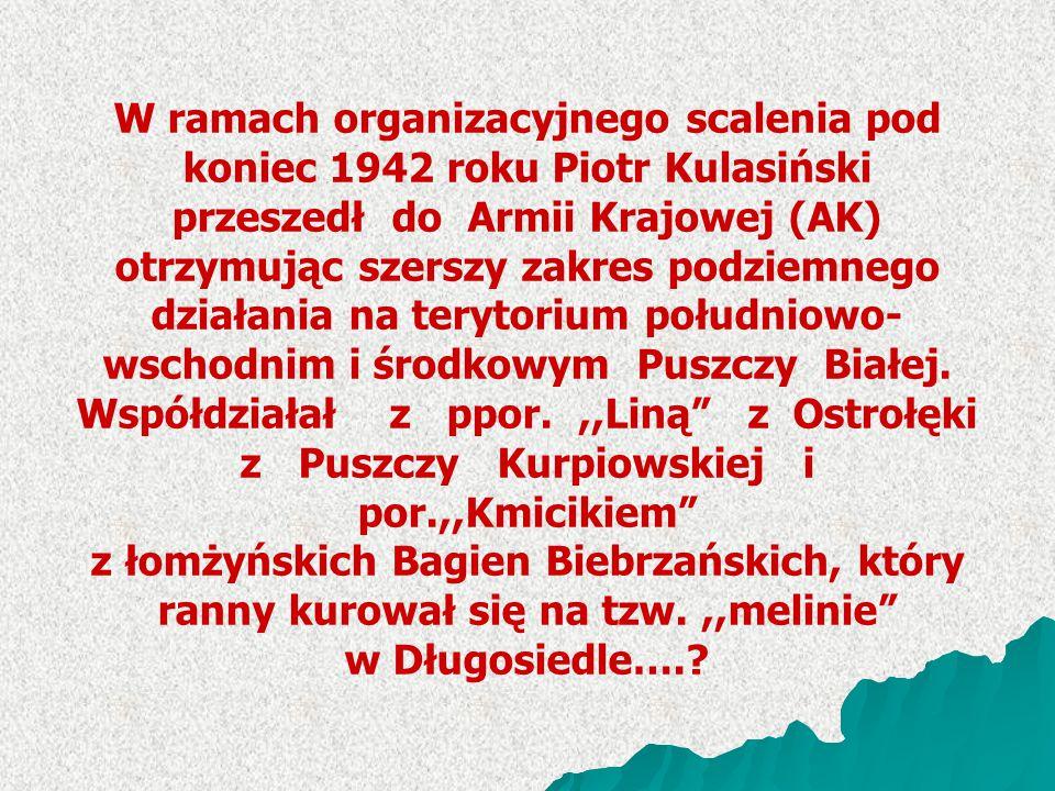 z Puszczy Kurpiowskiej i por.,,Kmicikiem