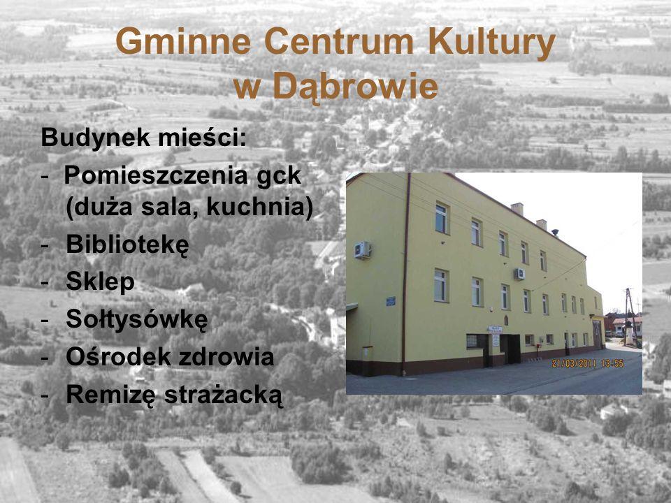 Gminne Centrum Kultury w Dąbrowie
