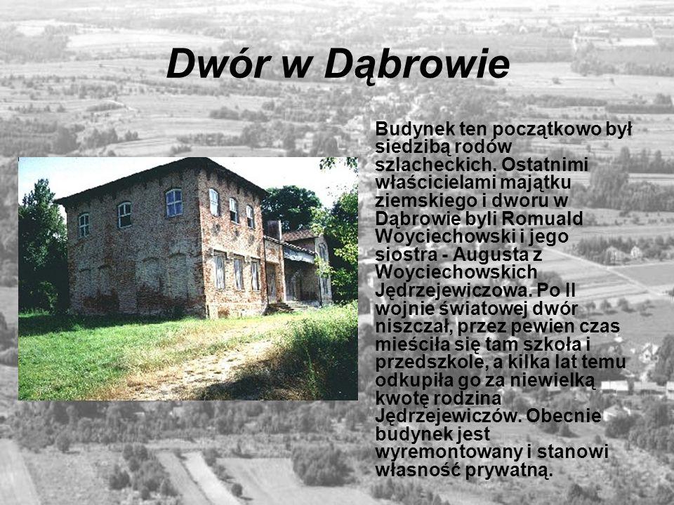 Dwór w Dąbrowie