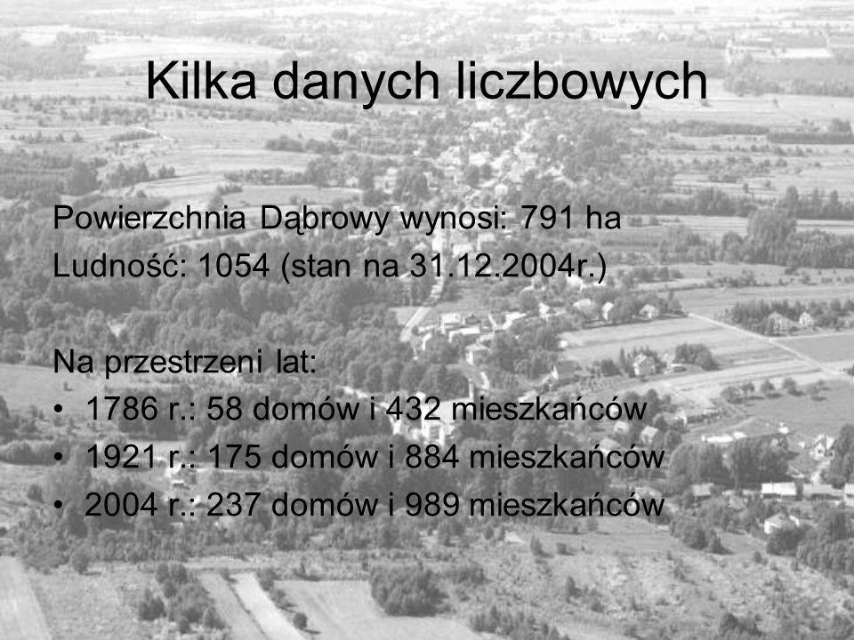 Kilka danych liczbowych