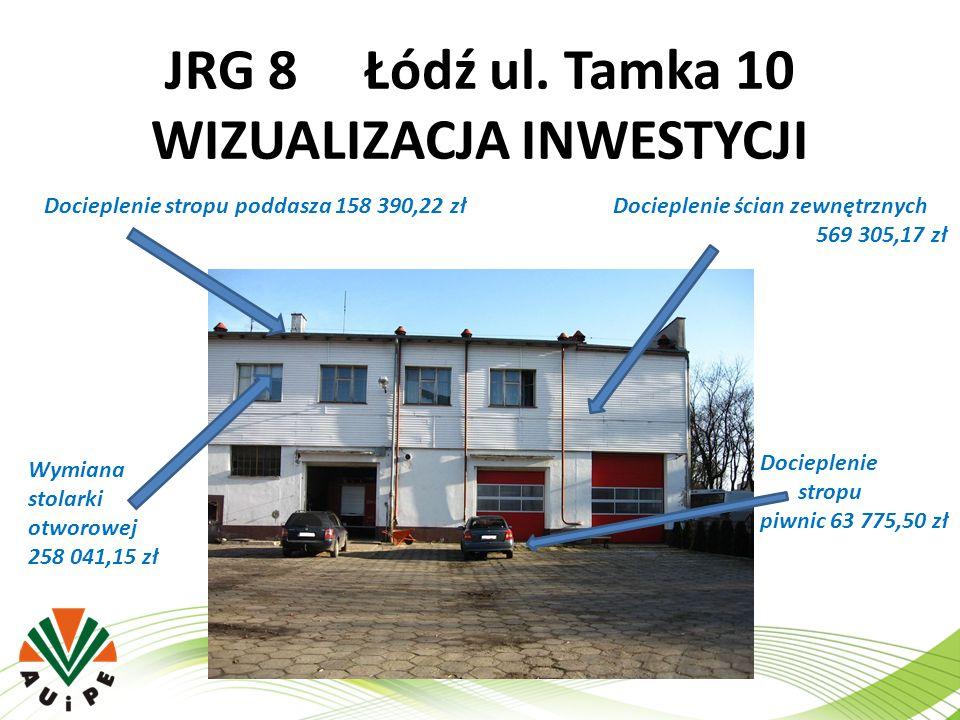 JRG 8 Łódź ul. Tamka 10 WIZUALIZACJA INWESTYCJI